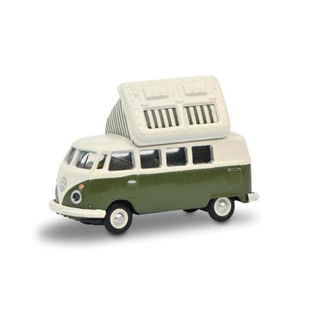 Schuco/シュコー VW T1c キャンピングバス グリーン/ホワイト