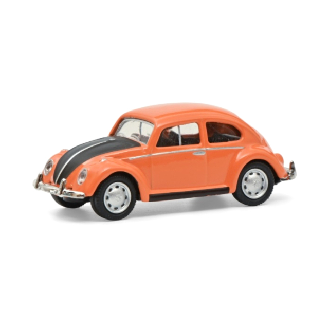 Schuco/シュコー VW ビートル オレンジ/ブラック