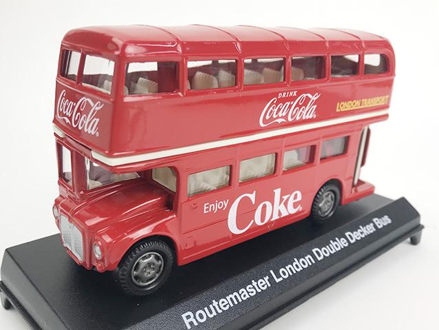 Coca-Cola ルートマスター ロンドン ダブルデッカーバス