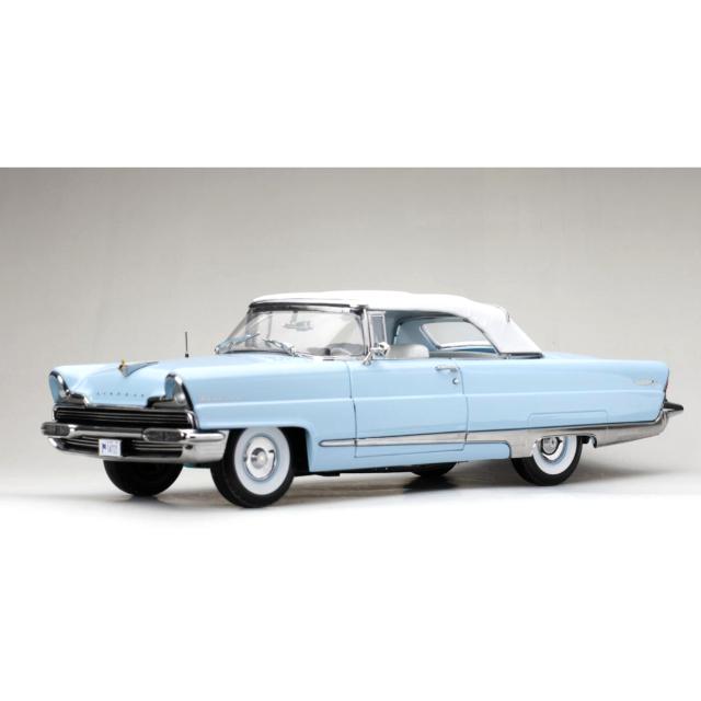 SunStar/サンスター リンカーン プレミア クローズドコンバーチブル 1956 Fairmont ブルー/ホワイトルーフ