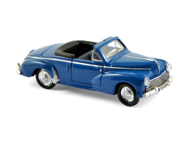 NOREV/ノレブ プジョー 203  カブリオレ 1952 ブルー 4台セット