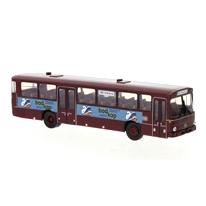 BREKINA/ブレキナ メルセデス O 307 Uberlandbus ダークレッド DB - BadKap 1975