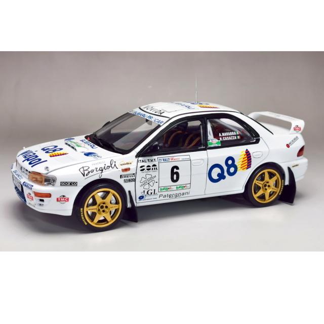 SunStar/サンスター スバル インプレッサ 555  1998年Rally II Ciocco 優勝  #6 A.Navarra/R.Casazza