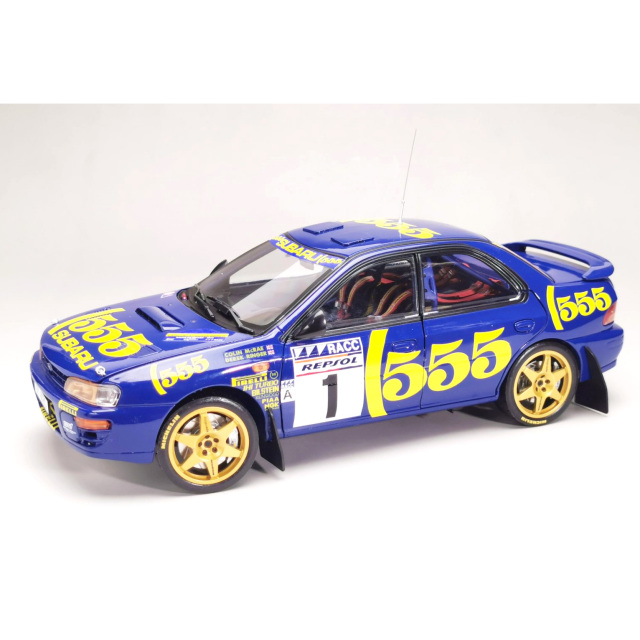 SunStar/サンスター スバル インプレッサ 555 1996 ラリー・カタルーニャ 優勝 #1 M.Colin/R.Derek