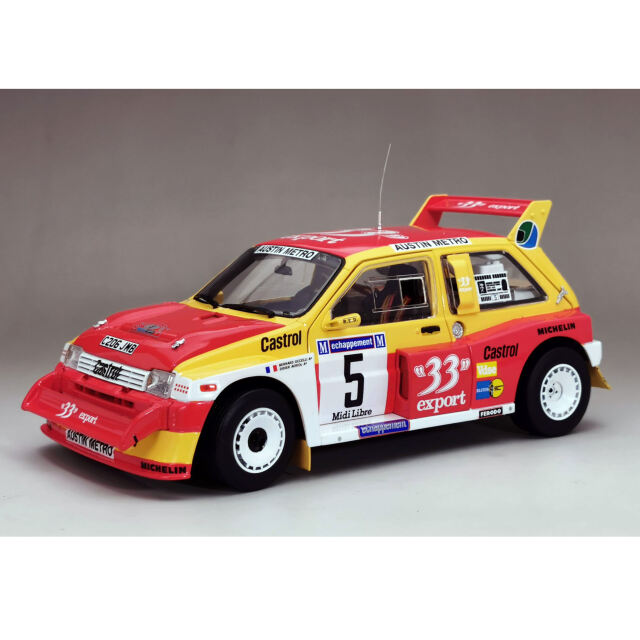 SunStar/サンスター MG Metro 6R4 1986年Criterium des Cevennes 優勝 #5 D.Auriol/O.Bernard