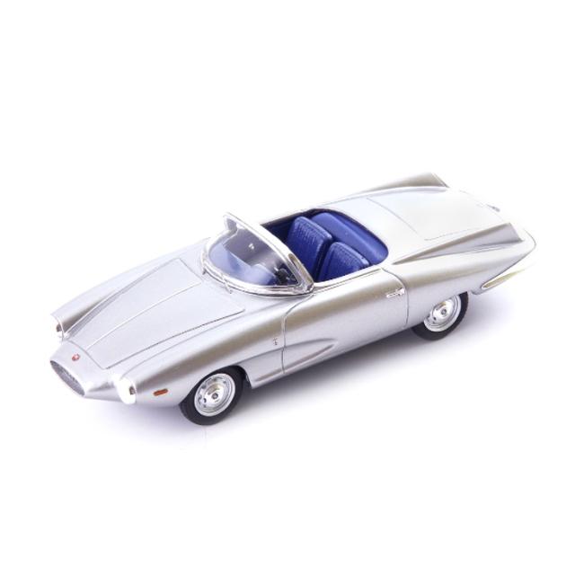 Auto Cult/オートカルト フィアット Stanguellini 1200 スパイダー アメリカ ベルトーネ 1957 シルバー