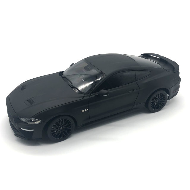 DIECAST MASTERS フォード マスタング GT 2019 右ハンドル マットブラック カスタムカラー