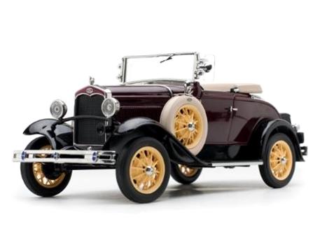 SunStar/サンスター フォード モデル A  ロードスター 1931  マルーン
