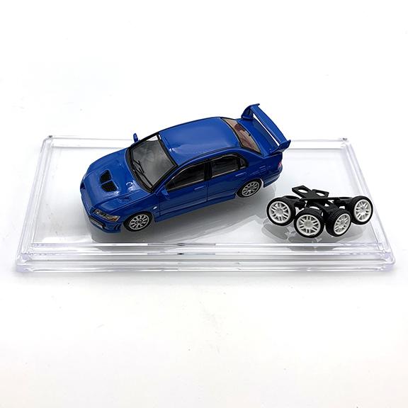 BM CREATIONS 三菱 ランサー  エボリューション VII  ブルー  RHD