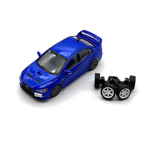 BM CREATIONS 三菱 ランサー エボリューション X ブルー RHD