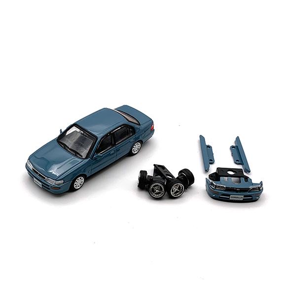 BM CREATIONS トヨタ カローラ 1996 AE100 ブルー LHD