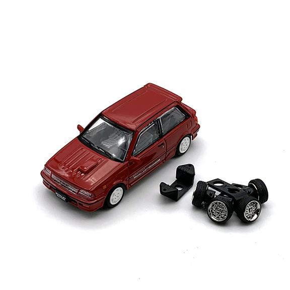 BM CREATIONS トヨタ スターレット ターボ S 1988 EP71 レッド LHD