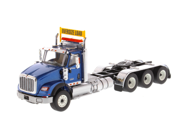 DIECAST MASTERS インターナショナル HX620 Tridem トラクター メタリックブルー