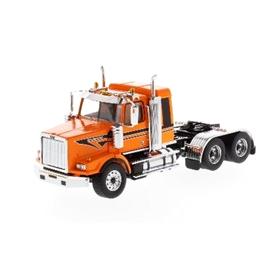 DIECAST MASTERS ウエスタンスター 4900 SB 寝台付き タンデム トラクター メタリックオレンジ