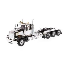 DIECAST MASTERS ウエスタンスター 4900 SF デイキャブ トライデム トラクター ブラック