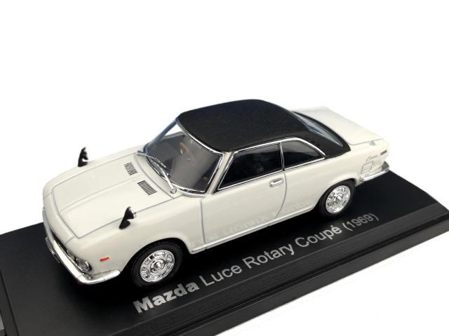NOREV J/ノレブジェイ マツダ ルーチェ ロータリークーペ  M13P 1969 ホワイト/ブラック
