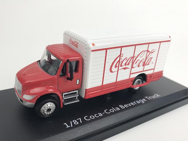 Coca-Cola ビバレッジ デリバリー トラック メタルボディ&シャシー