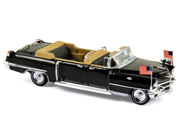 NOREV/ノレブ キャデラック クイーン・エリザベス2世 1956 ブラック