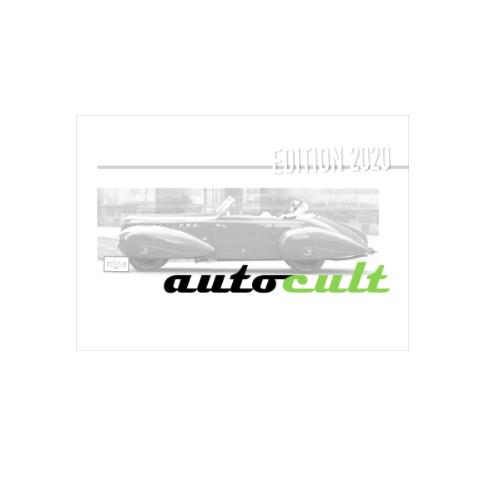 Auto Cult/オートカルト ブックオブザイヤーイヤー  2020  A4  184ページ ドイツ語/英語