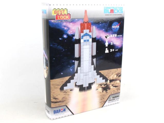 DARON/ダロン スペースシャトル 140ピース CONSTRUCTION TOY