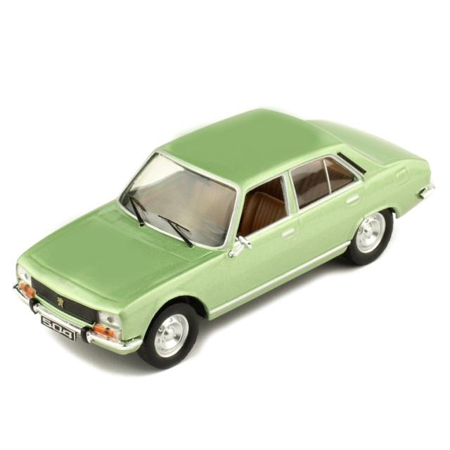 ixo/イクソ プジョー 504 1969 メタリックグリーン