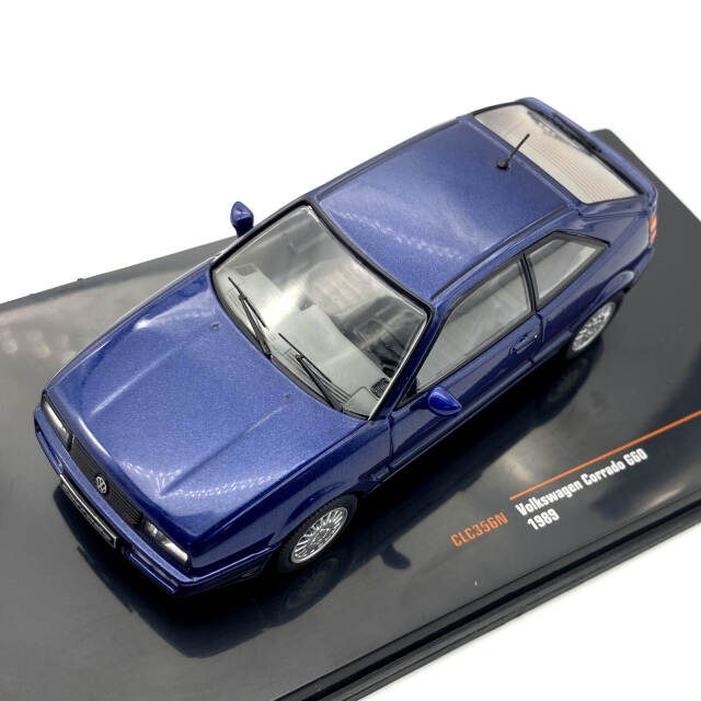 ixo/イクソ VW コラード G60 1989 メタリックブルー
