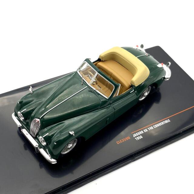 ixo/イクソ ジャガー XK 140 コンバーチブル 1956 グリーン