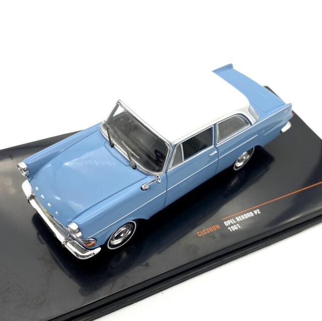 ixo/イクソ オペル レコルト P2 1961  ライトブルー/ホワイト
