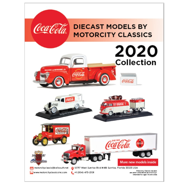 Coca-Cola COCA-COLA  カタログ  2020 英字 A4縦 15ページ