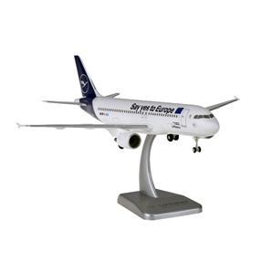 HoganWings/ホーガンウイングス A320 ルフトハンザ SAY YES TO EUROPE ランディングギア・スタンド付属