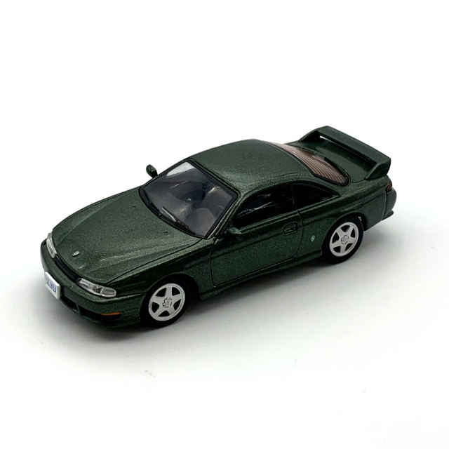 DIECAST MASTERS 日産 シルビア S14 グリーン LHD