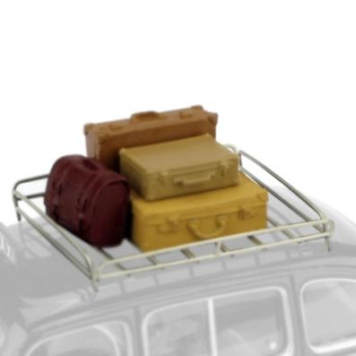 BRUMM/ブルム アクセサリーセット スーツケース&ルーフラック