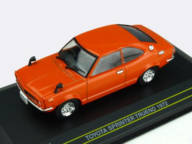 First43/ファースト43 トヨタ スプリンタートレノ 1972 オレンジ