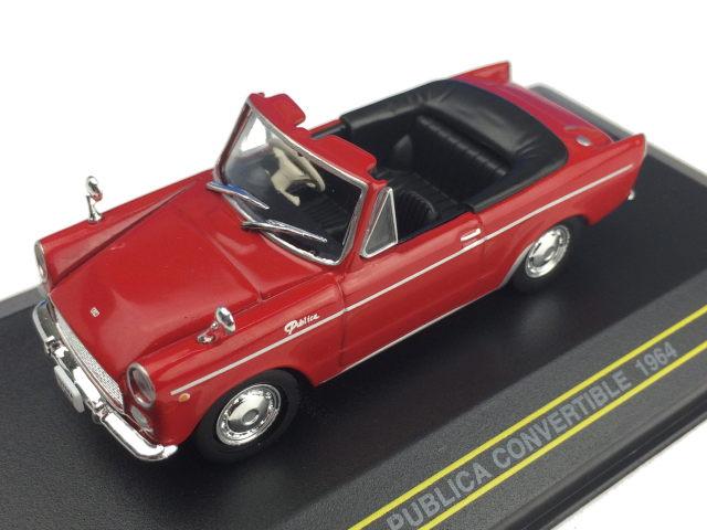 First43/ファースト43 トヨタ パブリカ コンバーチブル 1964 レッド (幌付き)