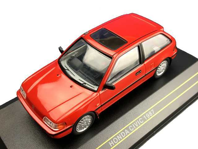 First43/ファースト43 ホンダシビック 1987 レッド