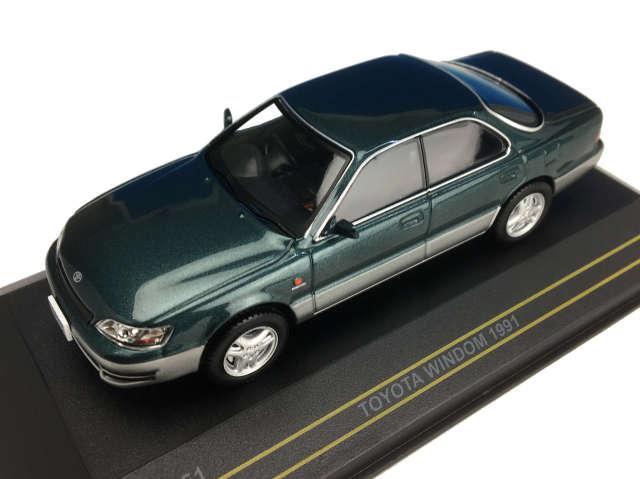 First43/ファースト43 トヨタ ウィンダム 1991 ダーク・グリーン/グレイ