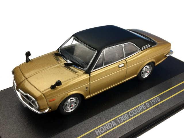 First43/ファースト43 ホンダ 1300 クーペ 9 1970 ゴールド/ブラックルーフ