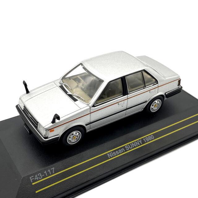 First43/ファースト43 日産 サニー 1980 シルバー 海外仕様