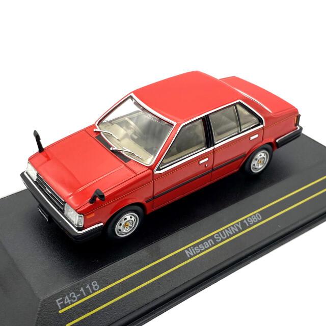 First43/ファースト43 日産 サニー 1980 レッド 海外仕様