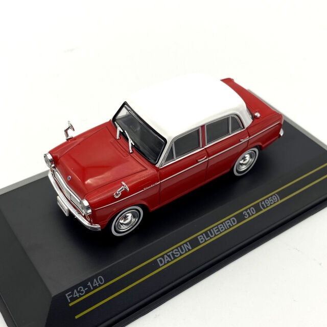 First43/ファースト43 ダットサン ブルーバード 310 1959 レッド/ホワイト