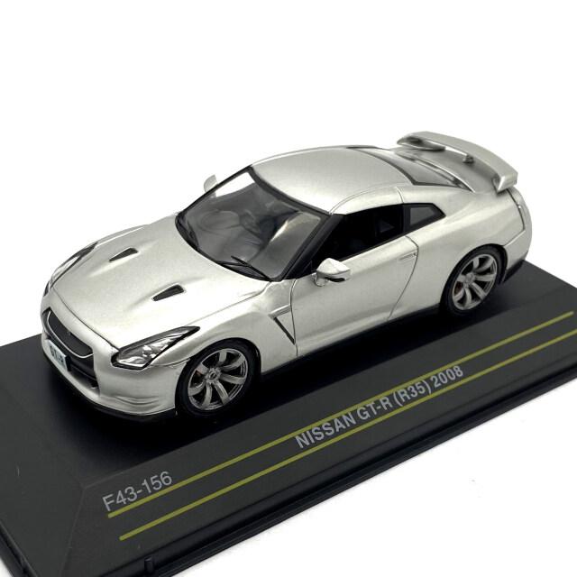 First43/ファースト43 ニッサン GT-R R35 2008 シルバー