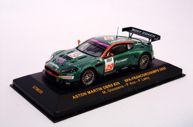 ixo/イクソ アストン・マーチン DBR9 05 FIA・GTスパ24時間 5位 #29 M.Gossen