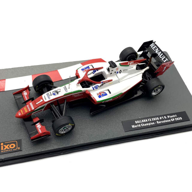 ixo/イクソ ダラーラ 2020年バルセロナGP F3 優勝 #1 O. Piastri