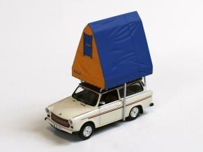 IST/イスト トラバント 601 コンビ (1980) クリーム  レジン製ルーフテント付