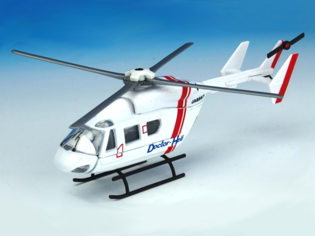 KBモデル(マジョレット) BK117B-2 ドクターヘリ JA6667