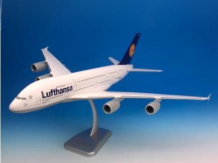 HoganWings/ホーガンウイングス ルフトハンザドイツ航空 A380-800 New York ギアなし、スタンド付属