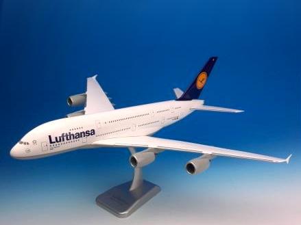 HoganWings/ホーガンウイングス ルフトハンザドイツ航空 A380-800 Berlin ギアなし、スタンド付属