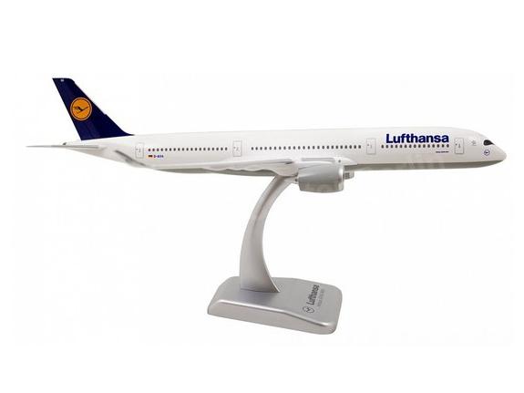 HoganWings/ホーガンウイングス A350-900 ルフトハンザドイツ航空 ランディングギアなし/スタンド付属