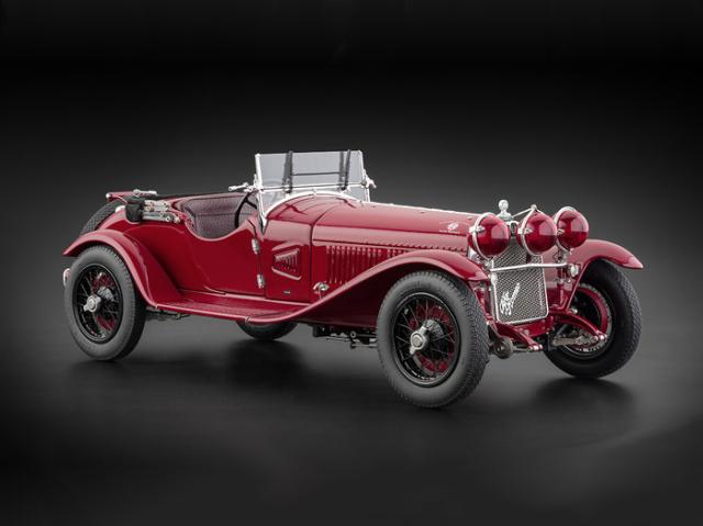 CMC/シーエムシー アルファ・ロメオ 6C 1750 GS 1930