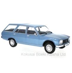 MODELCARGROUP/モデルカーグループ プジョー 504  ブレーク  1976  メタリックブルー